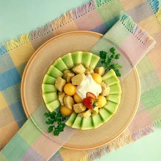 Gingered Pork and Melon Salad.