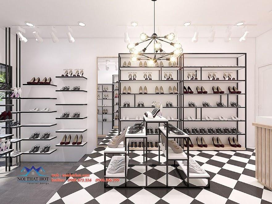 thiết kế shop giày dép timon 6