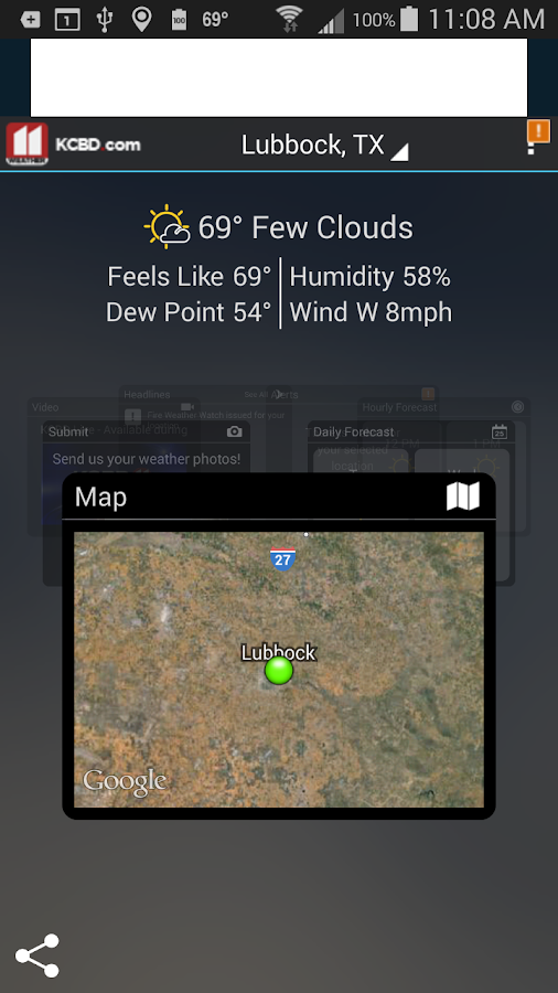 KCBD First Alert Weather - screenshot