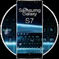 Blue Keyboard For Galaxy S7 apk