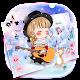 Kawaii Love Girl Keyboard Theme APK