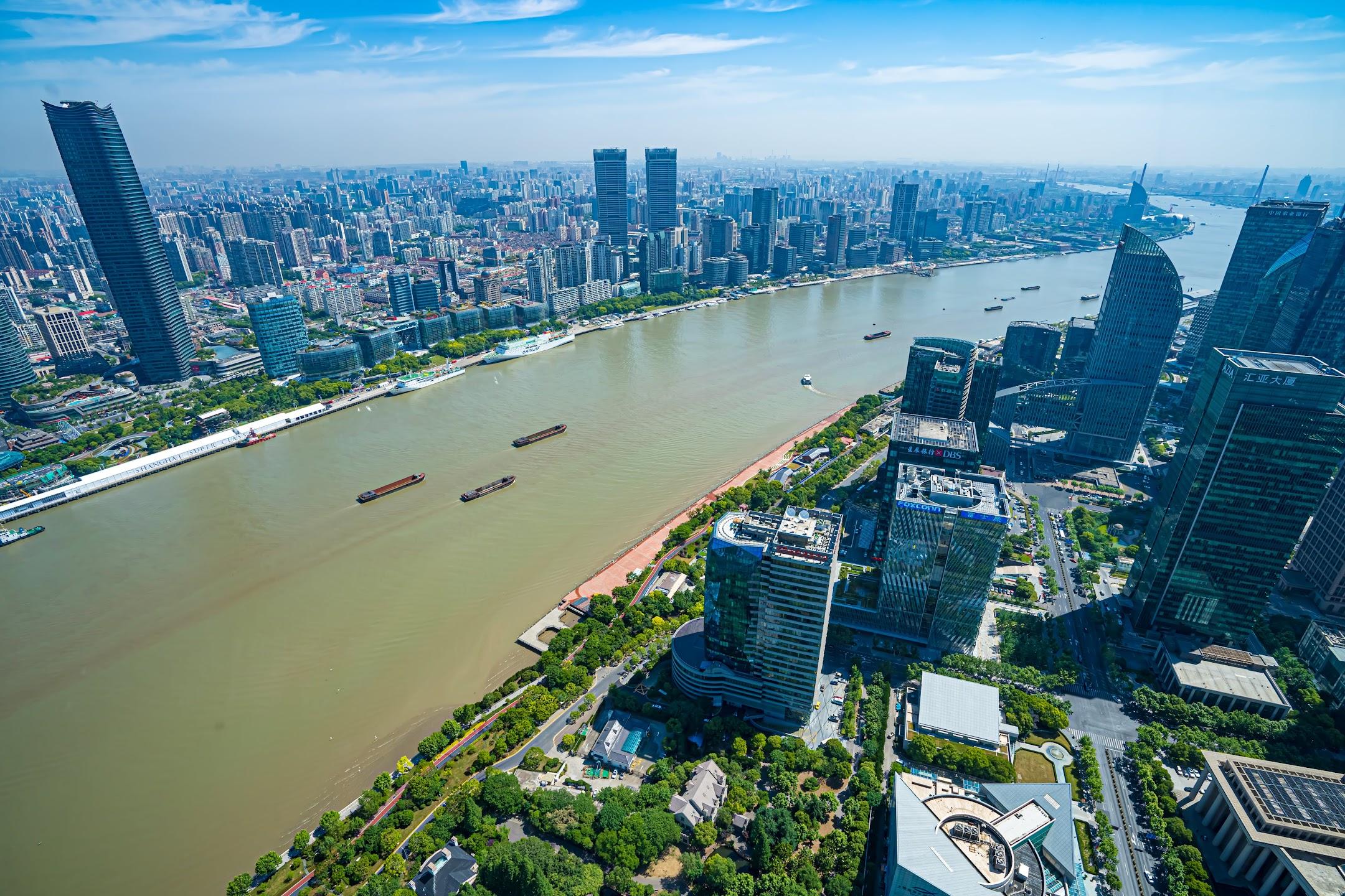 Shanghai Oriental Pearl Tower observation deck1