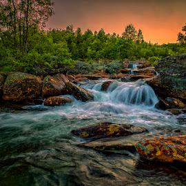 July by John Aavitsland - Landscapes Waterscapes