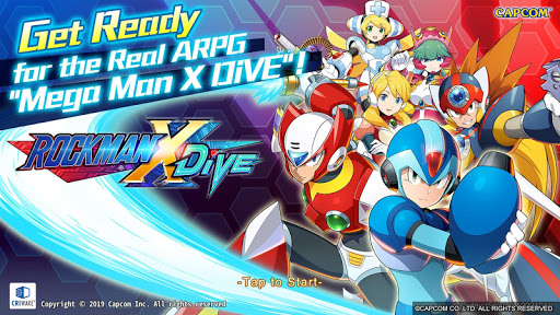 MEGA MAN X DiVE 0.1.1 screenshots 1