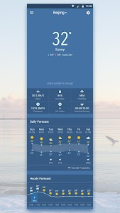 Transparent Weather Widget screenshot 5