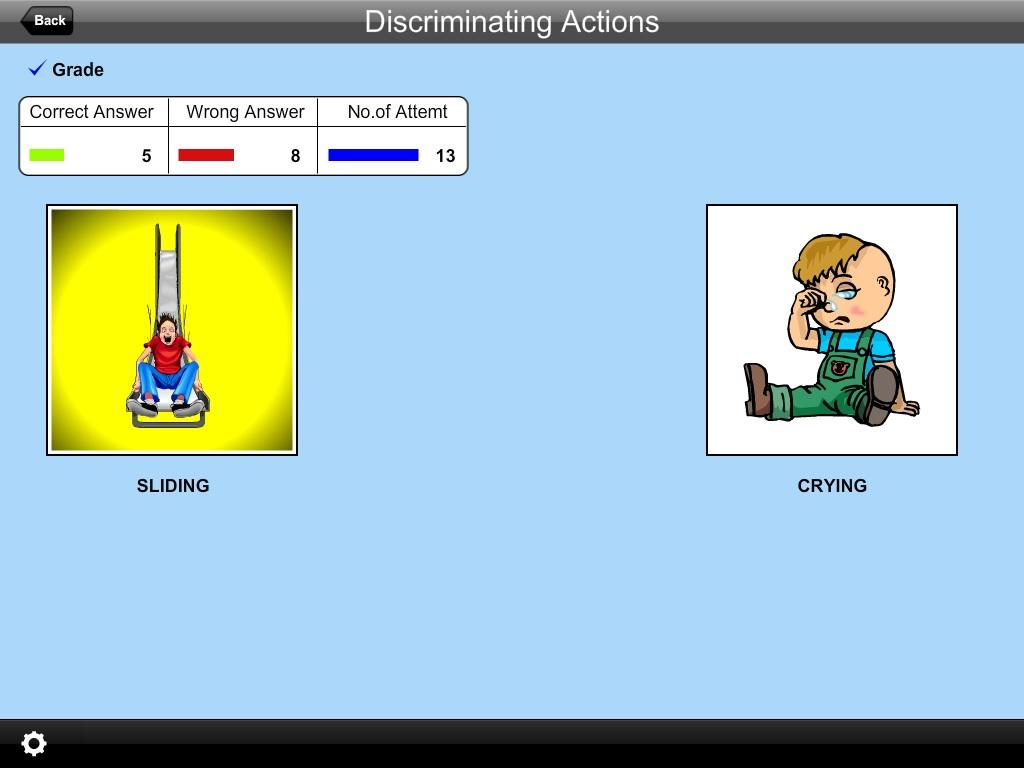 Discriminating Actions Lite- screenshot