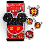 Cute Red Mouse Theme