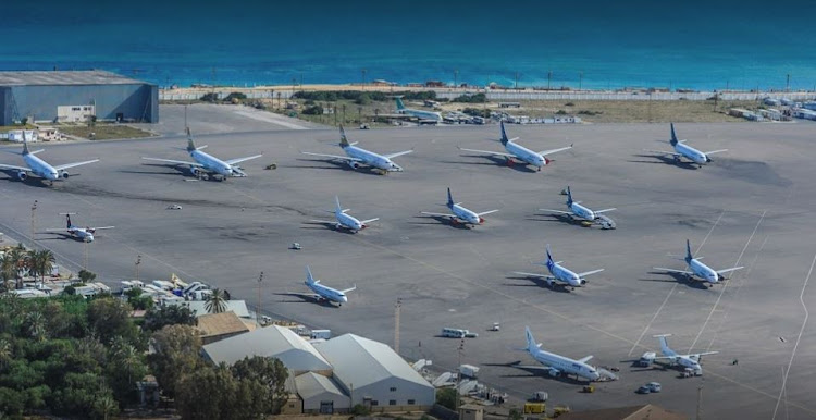 Mitiga, a former airbase, has been a civilian airport since Tripoli's main international airport was badly damaged in fighting between rival militias in mid-2014.