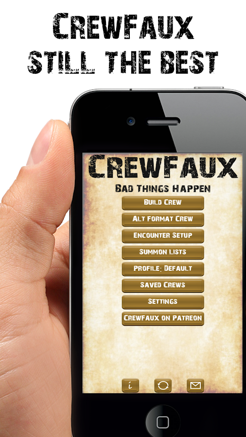 Crew Faux- screenshot