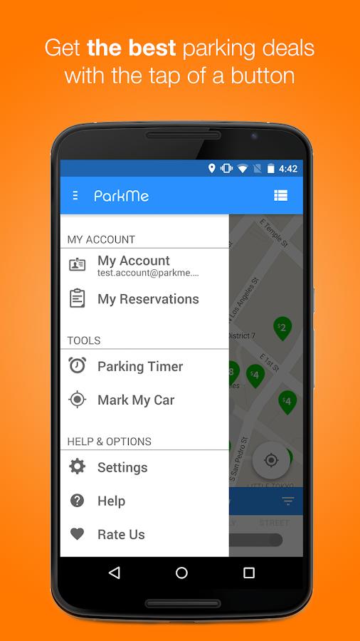 ParkMe Parking- screenshot