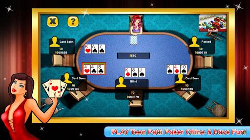 Teen Patti poker offline 1.0.6 10