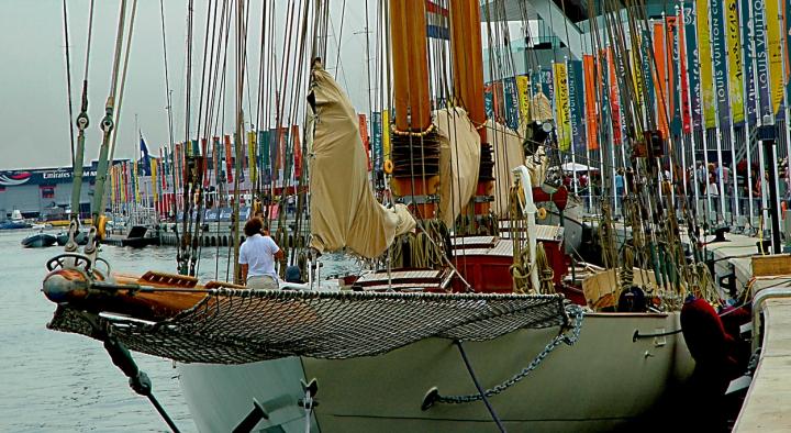 Barca e bandiere di csclassico