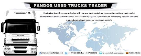 Photo: Fandos Used Trucks Trader / Talleres Fandos camiones
