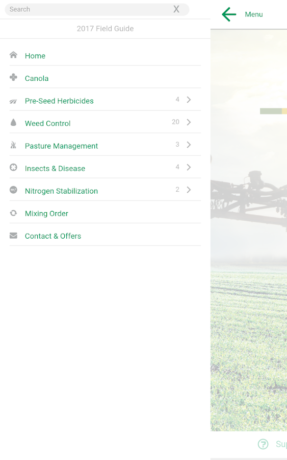 Dow AgroSciences Field Guide- screenshot