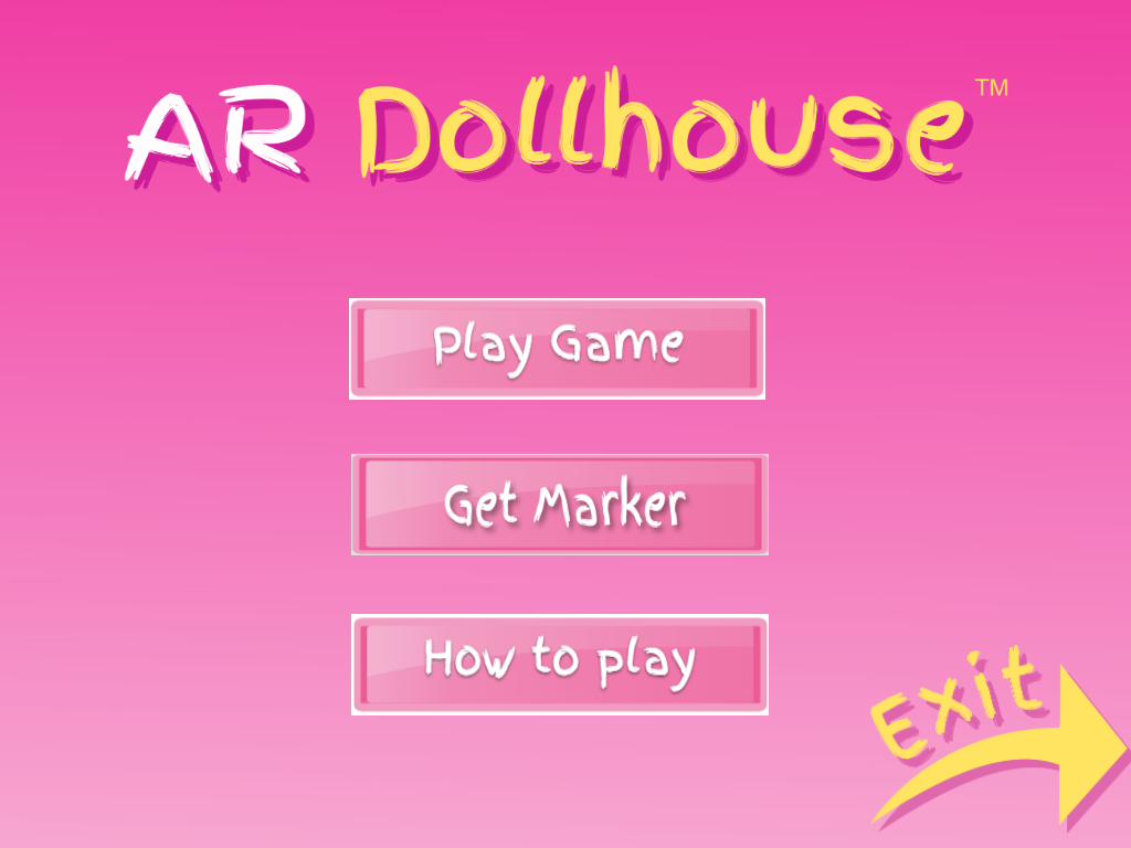 AR Dollhouse - Augmented Reality Game for Children- screenshot