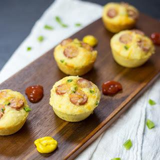 Dudes' Food Corn Dog Muffins