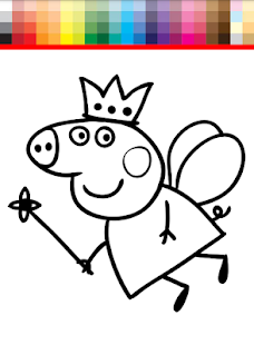 ... Coloring Book Peppa Pig APK APK Captura de tela