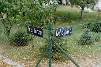 Photo: Dowód bliskości kolei {Toruń Czerniewice; 2003-09-16}