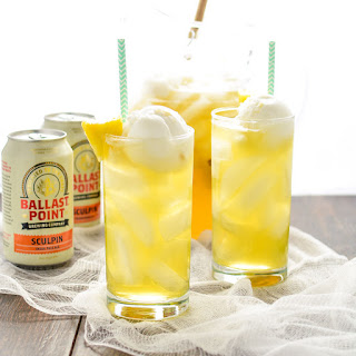 Tropical Pineapple Beer Party Punch.