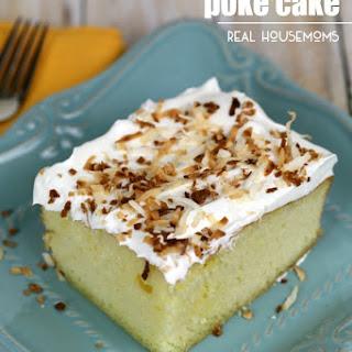 Tropical Poke Cake.