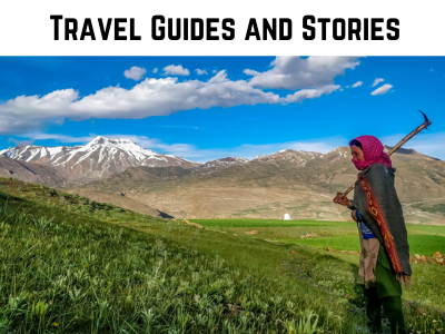 image of woman in spiti as cover image for travel stories and guides section on the blog on my canvas