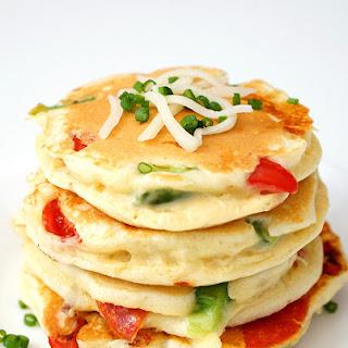 Pizza Pancakes – Quick & Easy Dinner Idea.