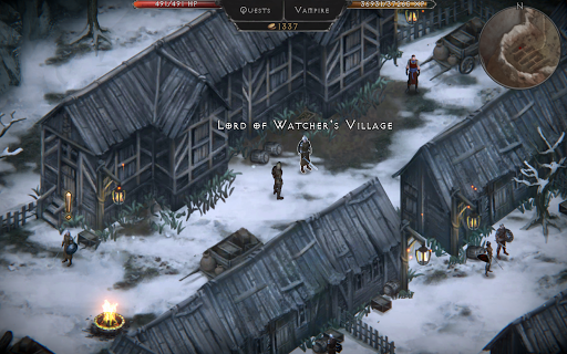 Vampire's Fall: Origins RPG 1.7.146 screenshots 4