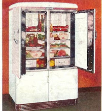 Photo: 1938 GE refrigerator