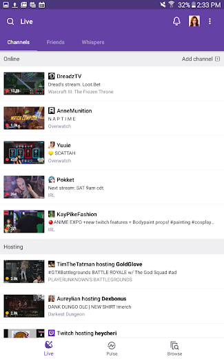 Screenshot 12 for Twitch.tv's Android app'