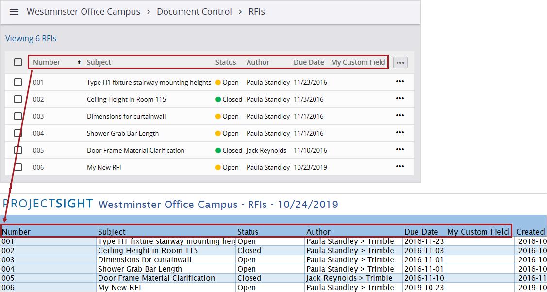 Export Excel Files