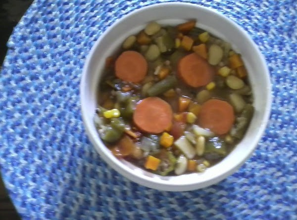 Easy Chicken Vegetable Soup Recipe
