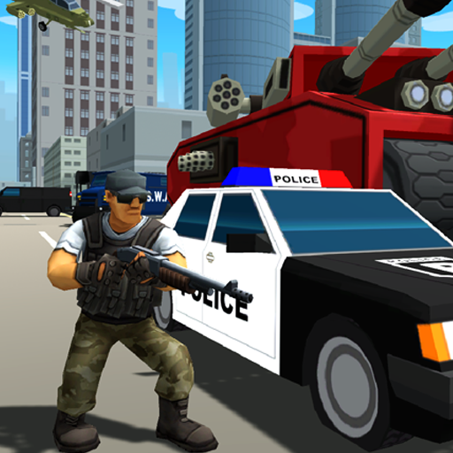 Gangstar City- Battle Royale 3D & FPS Shooter