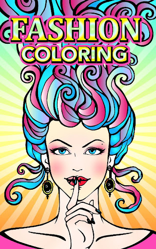 Fashion Adult Coloring Books