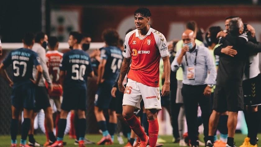 Samú Costa se marcha agradecido al Sporting de Braga.