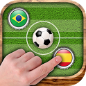Soccer cap - Score goals with the finger icon