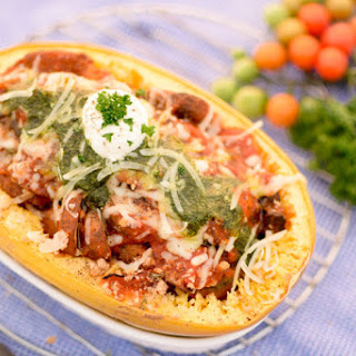 Spaghetti Squash Eggplant Parmesan Recipe
