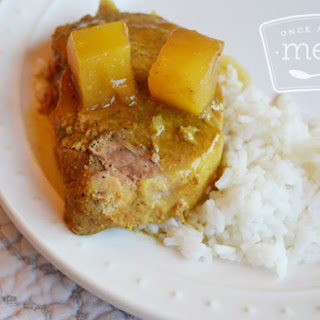 Slow Cooker Curried Pork Chops