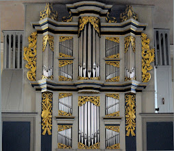 """Photo: Arp Snitger (1648 – 1719)  Orgel aus Altona jetzt in Blankenhagen  Der hamburger """"Silbermann"""" Arp Schnitger erbaute im Jahre  1699 bis 1700 auch die Orgel für die im Mai 1945 abgebrannte Schlosskirche in Dargun."""