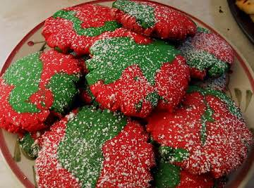 Twisted Sugar Cookies
