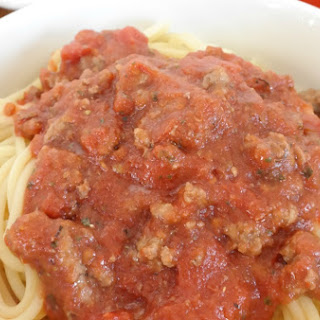 Easy and Frugal Spaghetti Recipe – $0.97 per plate.