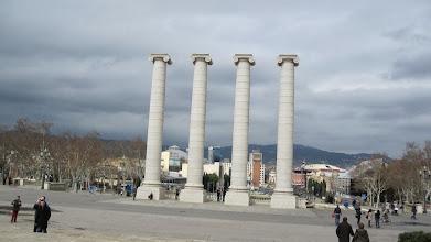 Photo: Les 4 columnes de Puig i Cadafalch