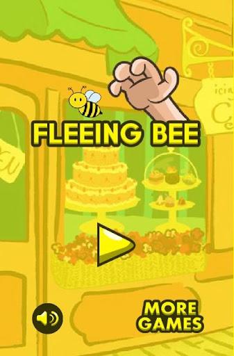 Fleeing Bee