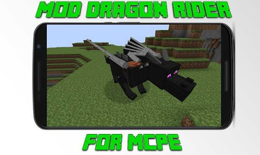 Mod Dragon Rider for MCPE - náhled