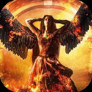 download Angelic girl live wallpaper apk