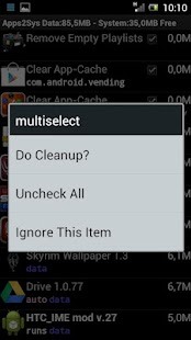 SystemCleanup Screenshot