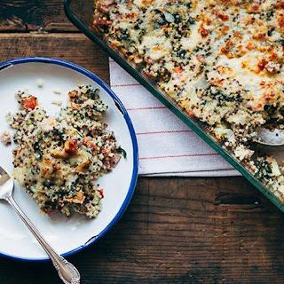Hawaiian Pizza Quinoa Casserole