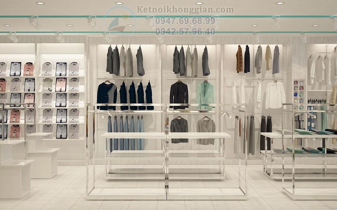 thiết kế shop quần ào thời trang cuốn hút