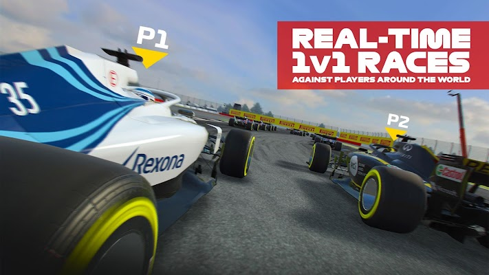 F1 Mobile Racing Screenshot Image