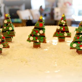 Chocolate Christmas Kit kat forest!