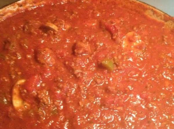 Hot And Sweet Spaghetti Sauce Recipe